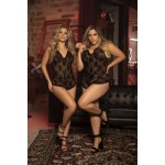 8441 Babydoll/Romper Color Black