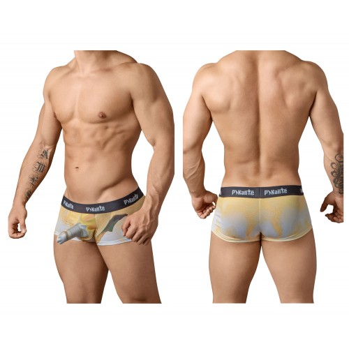 PIK 8436 Peels Boxer Briefs Color Yellow