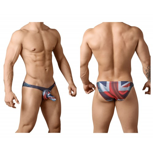 PIK 8694 British Briefs Color Red