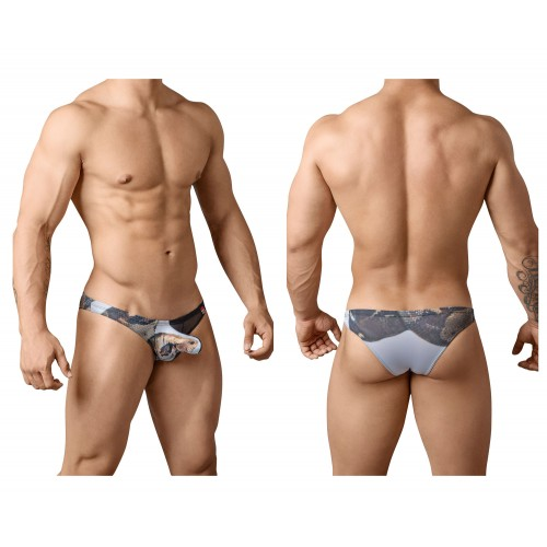 PIK 8698 Serpent Briefs Color Black
