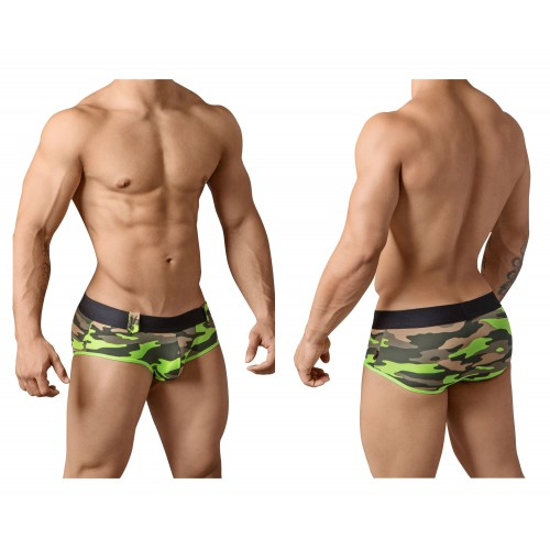 PIK 8706 Warfare Briefs Color Green