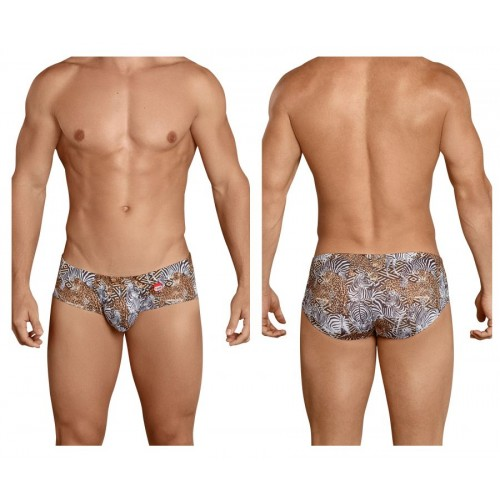 PIK 8718 Clay Anatomic Briefs Color Black