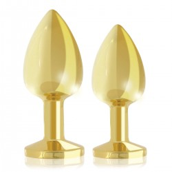 Booty Plug Gold Luxury Set 2-Pack