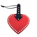 Rouge Leather Heart Paddle