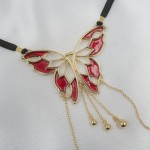 Women's Butterfly G-String in Gold  with Pleasure Pendants