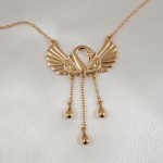 Swan Waist Chain with Dangling Pendants in Gold or Silver
