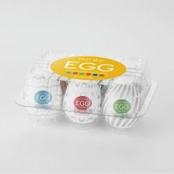 Tenga Easy Beat Egg Variety Multi 6 Pack -New Standard