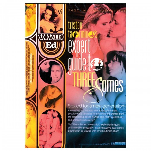 Tristan Taormino's Expert Guide to Threesomes DVD