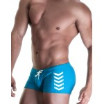 WildmanT CHEVRON SQUARE CUT SWIM BLUE