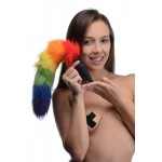Rainbow Tail Silicone Anal Plug