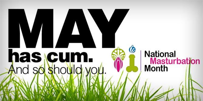 May National Masturbation Month