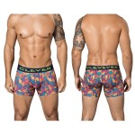 2341 Peace and Love Boxer Briefs Color Blue