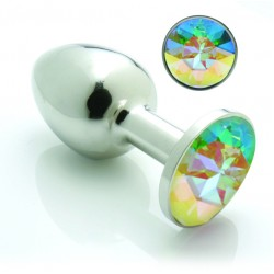 Crystal & Steel Pretty Plug