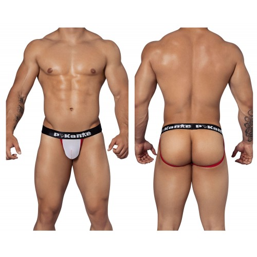 PIK 9263 Freestyle Jockstrap Color White