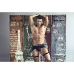1704 Boxer Briefs Color Black