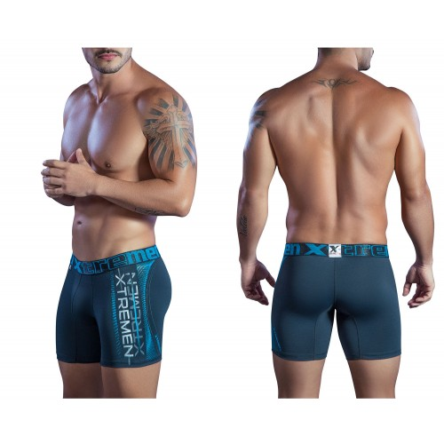 51404 Sports Microfiber Boxer Briefs Color Black