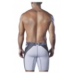 51408 Sport Performance Breathable Boxer Briefs Color White-Gray