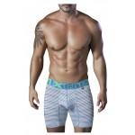 51411 Sport Performance Breathable Boxer Briefs Color Turquoise