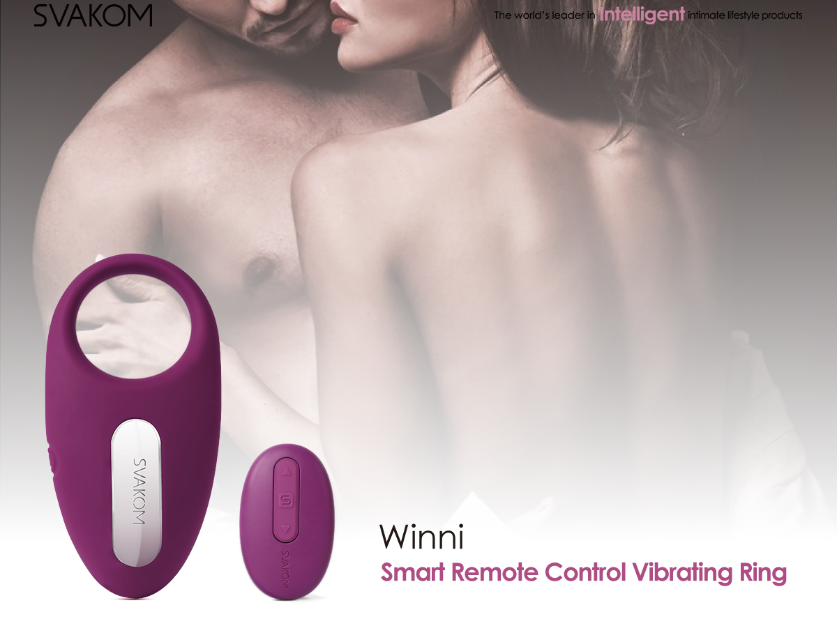 Winnit Remote Control Vibrating Cock Ring