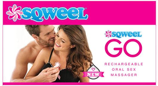 Sqweel Go Oral Sex Toy